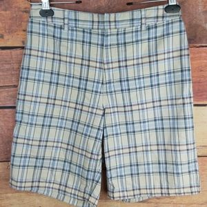 Tommy Hilfiger plaid bermuda boys size 12